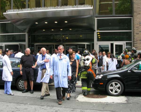 Fire Alarm at NYU Dental School