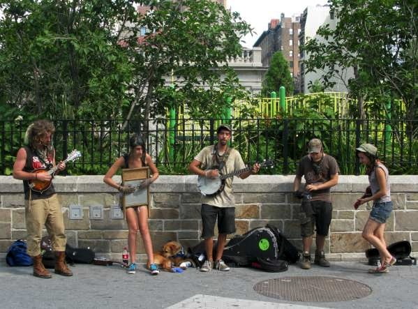Old Timey Musicians in Union Square