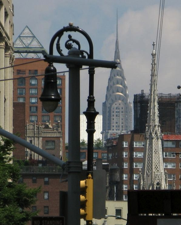 Chrysler Building and Grace Church and Zeckendorf  Towers