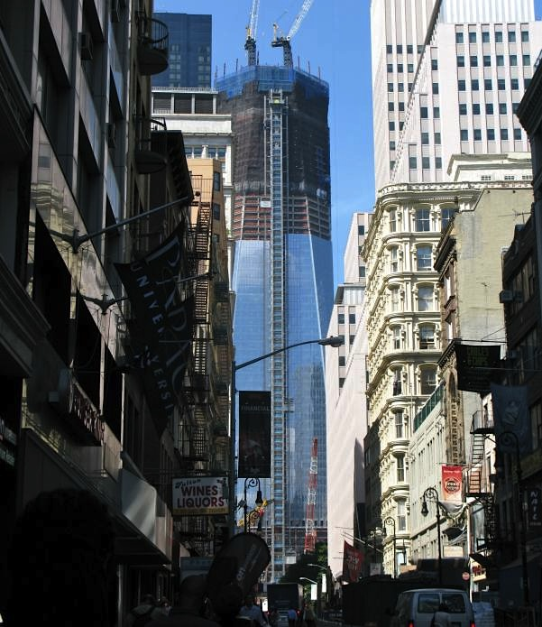 One World Trade Center from Fulton Street
