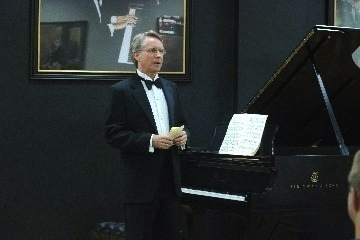 Douglas Horn at Rachmaninoff Benefit