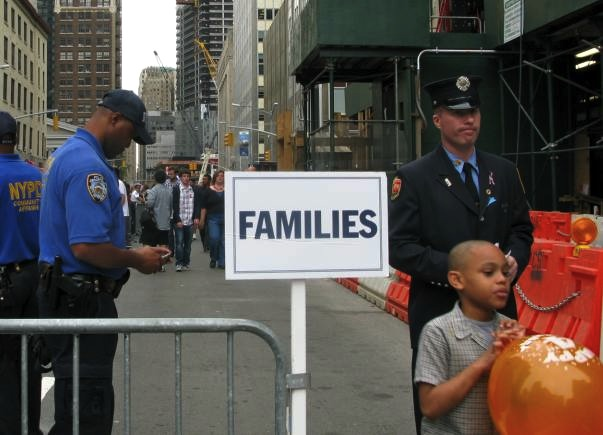 9/11 Families Entrance to the Site