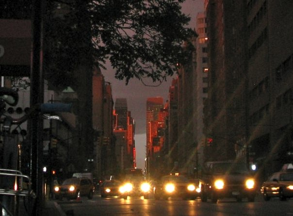 Seventh Avenue at Sunset