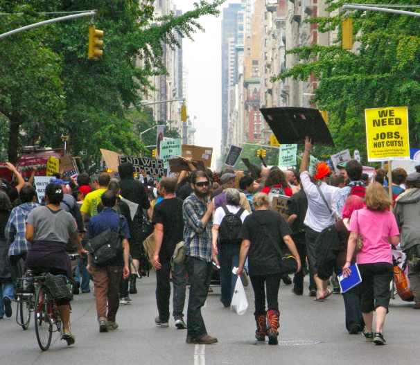 Wall Street Protestors