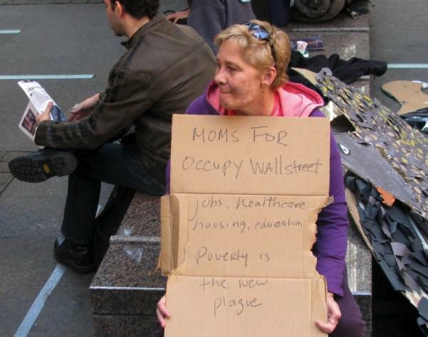 Occupy Wall Street Demonstrator