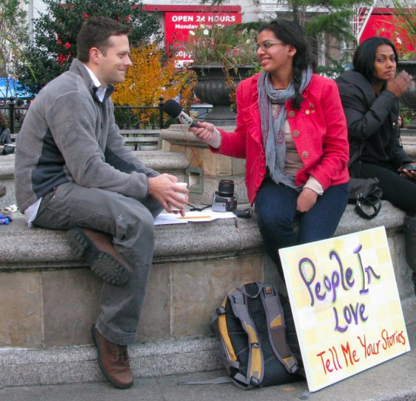 Love Interview in Union Square