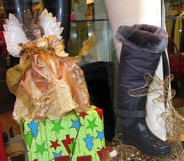 Winter Boots on Bleecker Street