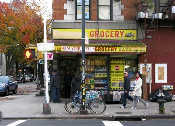 A Deli in Williamsburg, Brooklyn