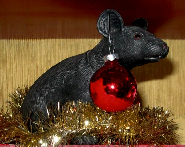 Christmas Rat