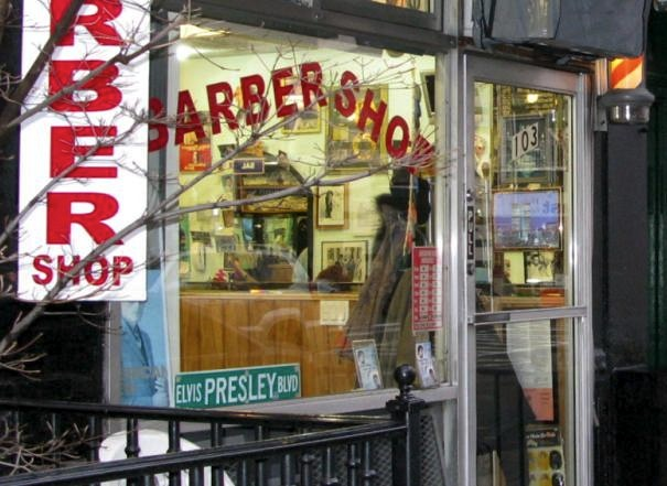 Barber Shop, 11th Street, New York City