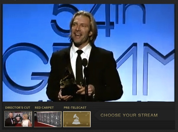 Eric Whitacre Wins Grammy