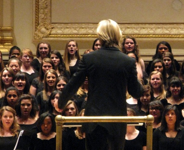 Eric Whitacre at Carnegie Hall
