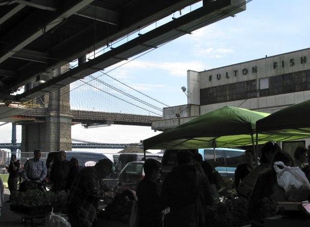 Underneath Brooklyn Bridge On Ramp