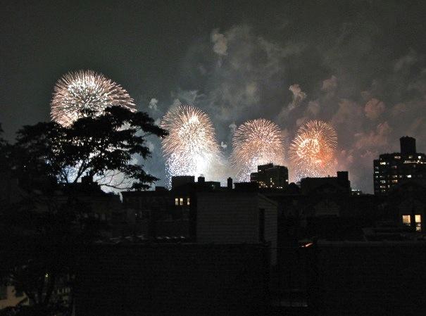 Fireworks NYC 2012