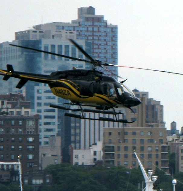 Helicopter in the East River