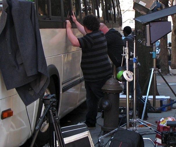 Film Shoot Weehawken Street
