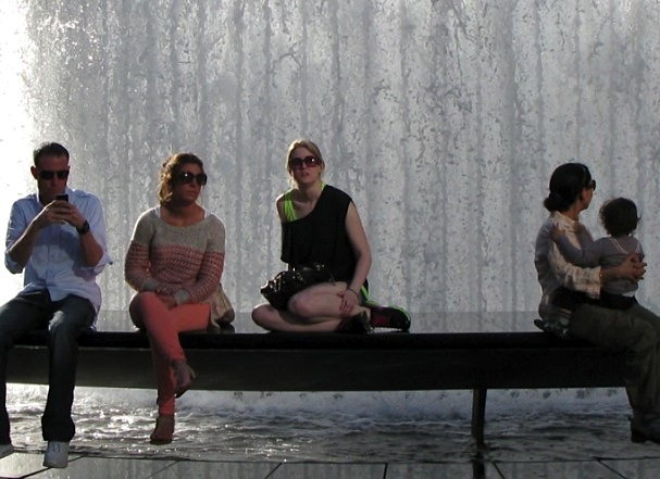 Fountain at Lincoln Center, New York City