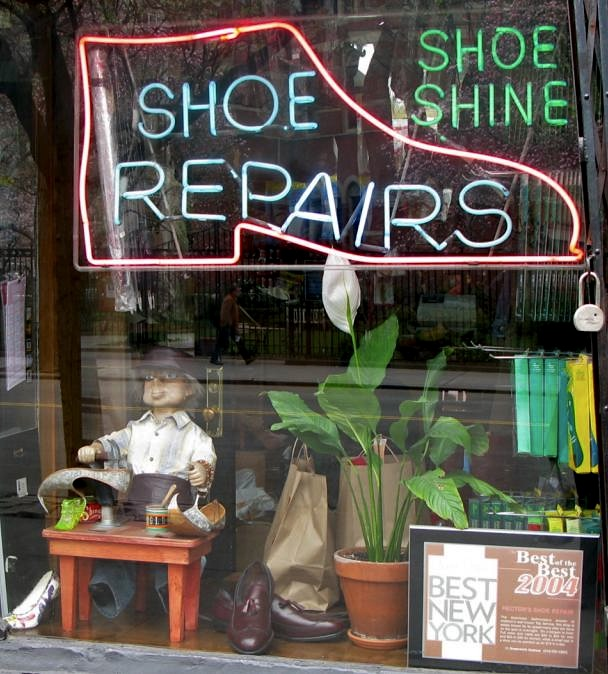 Shoe Repair Shop, New York City