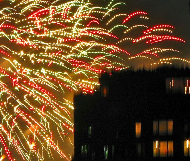 Fireworks, New York City, 2013