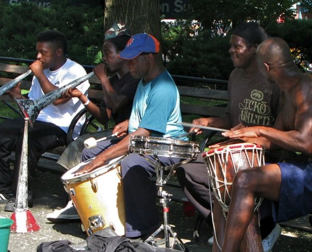 Musicians Union Square, New York City