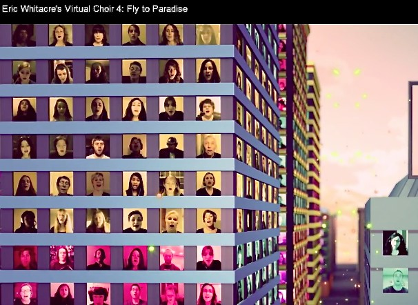 Virtual Choir 4, Eric Whitacre