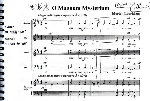 Marten Lauridsen, O Magnum Mysterium