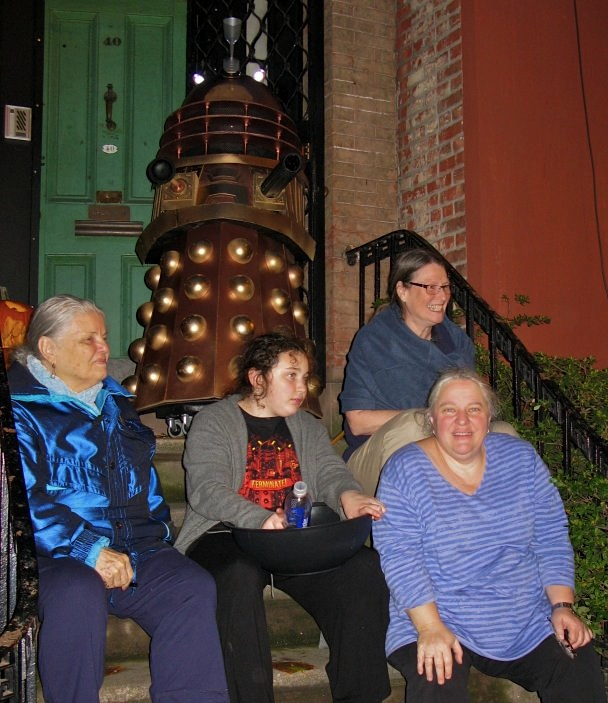 A Dalek Invades Perry Street