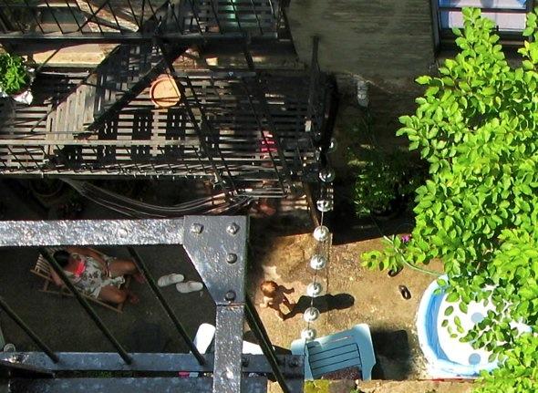 Backyard, New York City