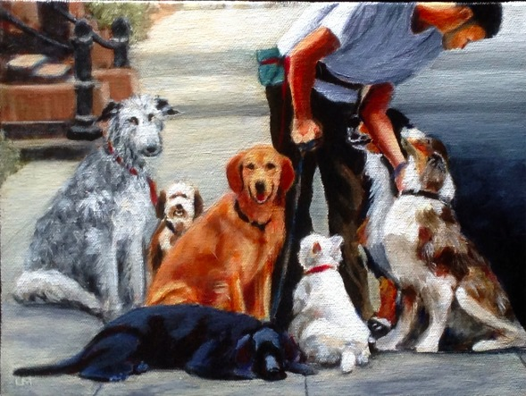 Dog Love, NYC, by Lynn Morecraft