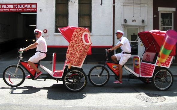 Good Humor Pedicabs