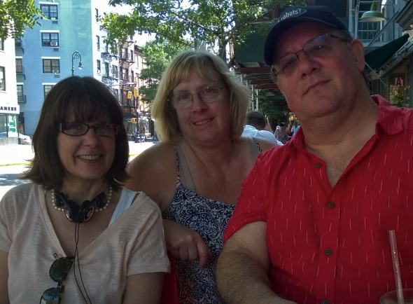 At the White Horse Tavern with Jane & Daniel