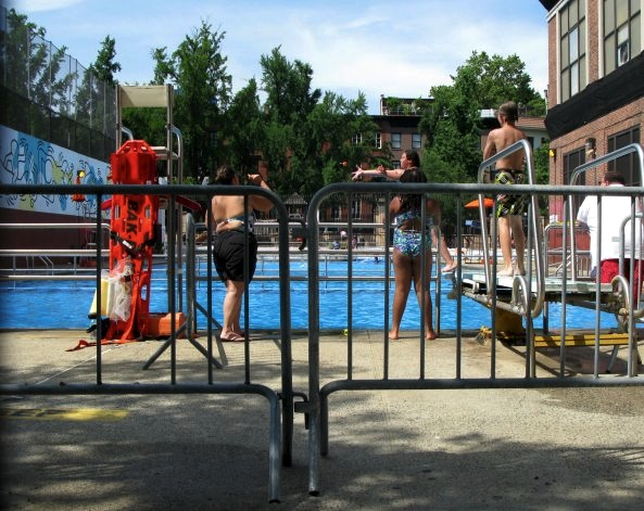 Tony Dapolito Recreation Center Outdoor Pool