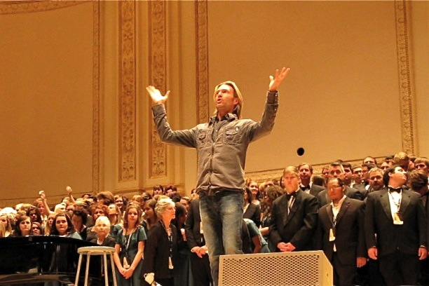 Eric Whitacre, Carnegie Hall, New York City