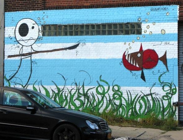 Graffiti, East Williamsburg, Brooklyn, NYC
