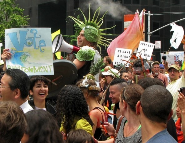 People's Climate March, New York City, September 21, 2014