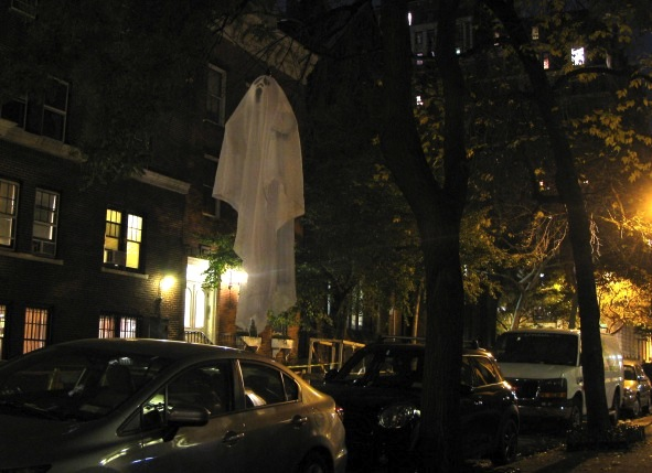 Halloween Decorations, West Village, New York City, 2014