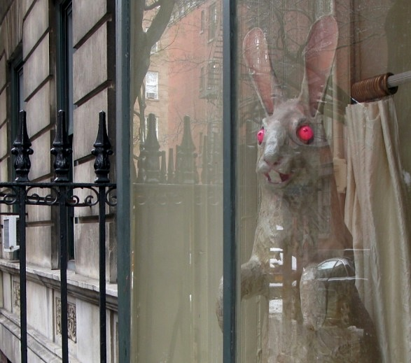 Easter Bunny, West Village, New York City