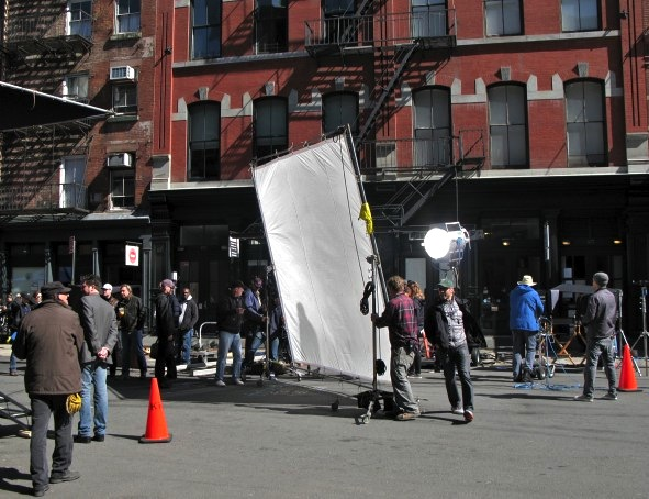 Movie Shoot, New York City