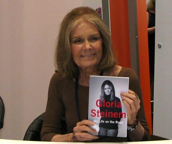 Gloria Steinem, BookExpo America 2015