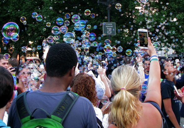 Bubble Battle NYC 2015