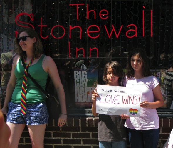 The Stonewall Inn, June 26, 2015