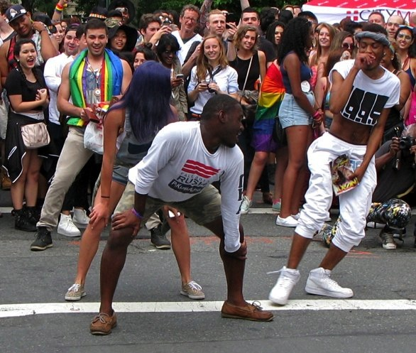 Gay Pride Parade, New York City, 2015