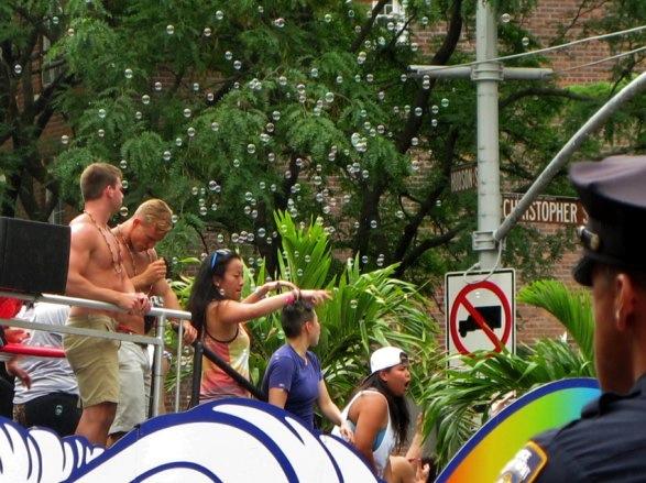 Gay Pride Parade, New York City, 2015