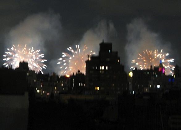 Fireworks, New York City, 2015