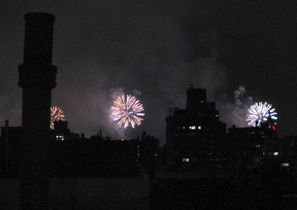 Fireworks, New York City, 2015