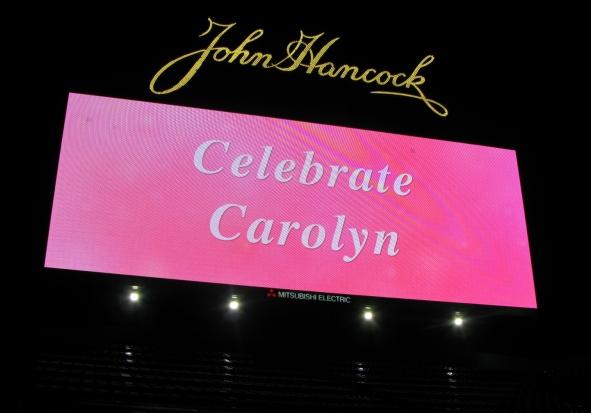 Carolyn Kaelin Memorial Fenway Park