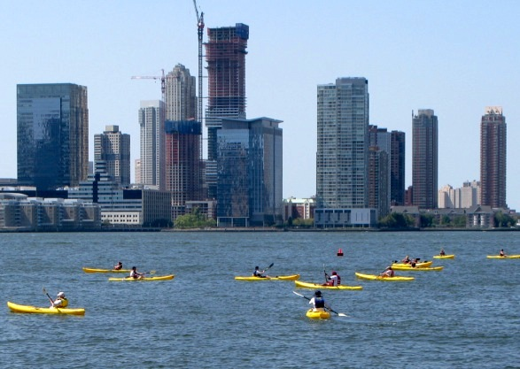 Kayaking, Hudson River, New York City