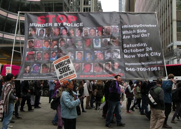 Black Lives Matter March October 24, 2015 New York City