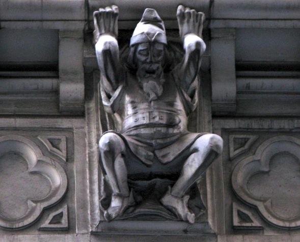 Statue, 40th Street, New York City