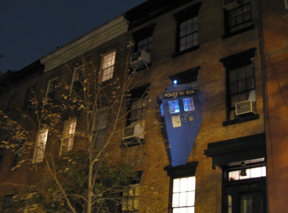 Tardis on Perry Street, New York City, 2015